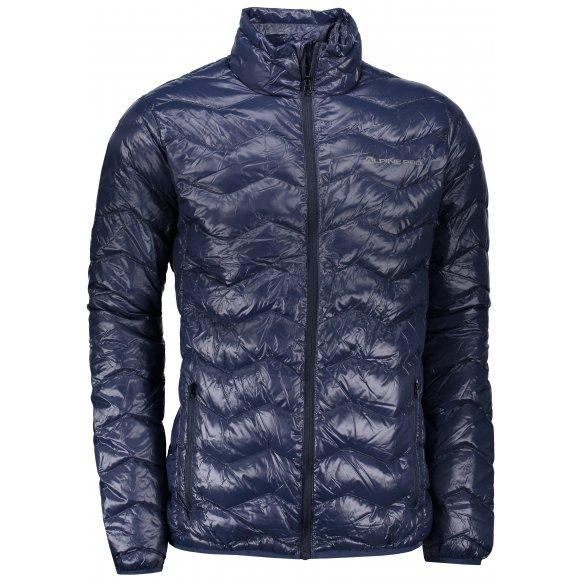 Pánská zimní bunda ALPINE PRO DOBEL MJCK183 TMAVĚ MODRÁ