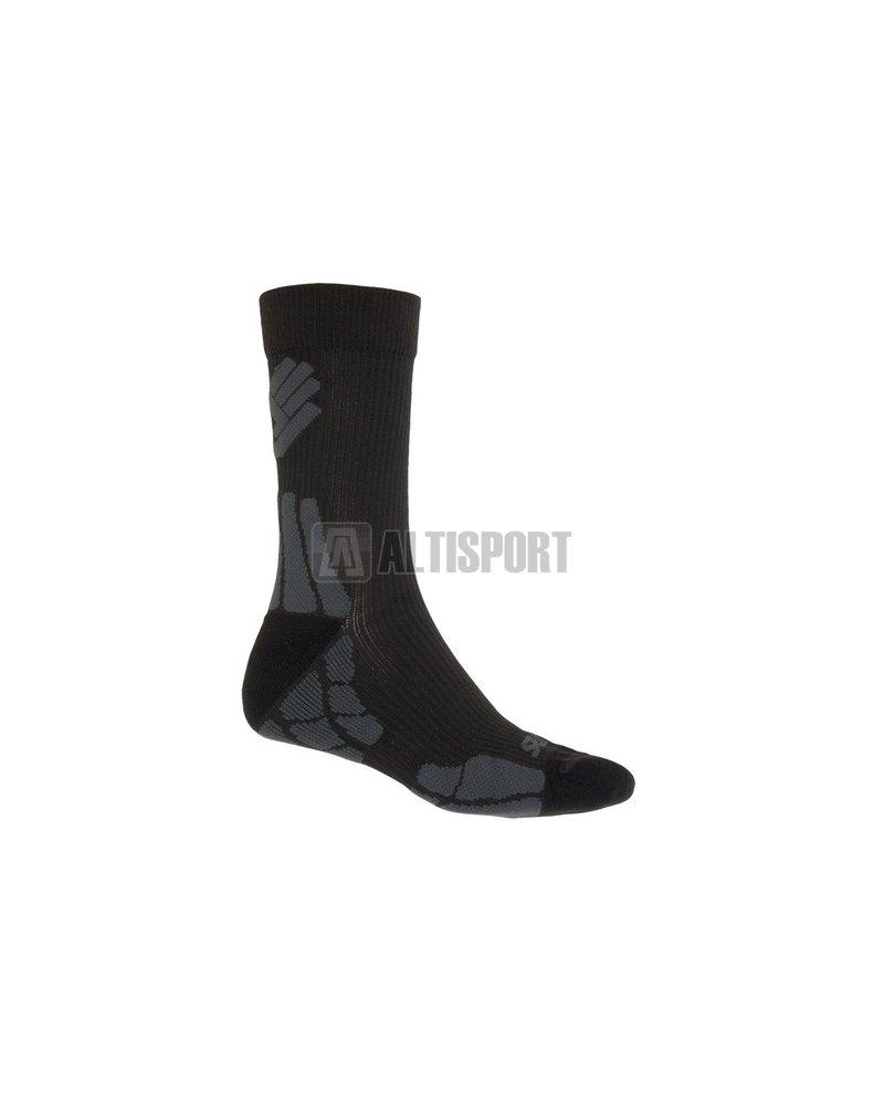 Sportovní ponožky SENSOR HIKING MERINO 15200052-00 ČERNÁ ŠEDÁ ... 02413de687