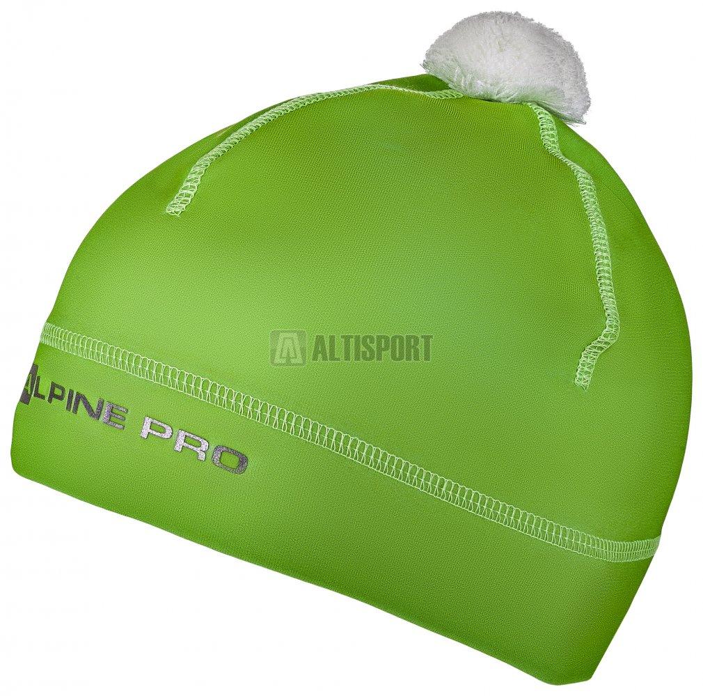 a0585b36c7f Dětská zimní čepice ALPINE PRO POLLY 2 KHAK027 ZELENÁ