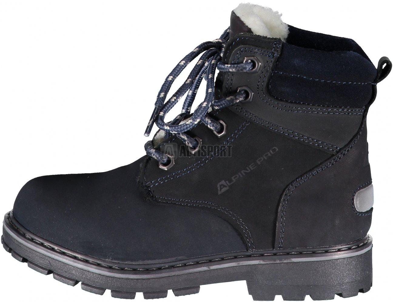 Dětské kotníkové boty ALPINE PRO JINNY KBTK151 TMAVĚ MODRÁ velikost ... 9bf60a2f0a