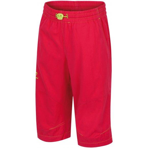 Dětské 3/4 kalhoty HANNAH RUFFY JR ROSE RED