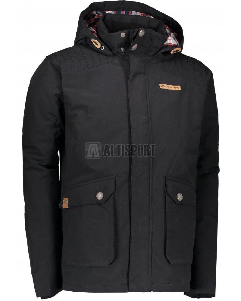 69a019314294 Pánská podzimní bunda ALPINE PRO DARDANO 4 MJCK213 ČERNÁ velikost  L ...