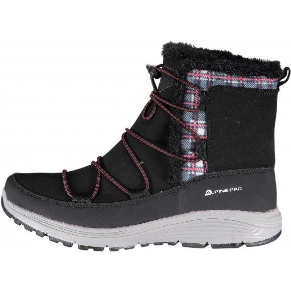 Dámské zimní boty ALPINE PRO DARLEEN LBTK145 ČERNÁ