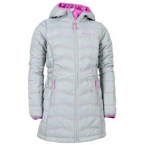 Dětský dlouhý kabát ALPINE PRO ADRIANNO 3 KCTK007 ŠEDÁ ebd3610ef0