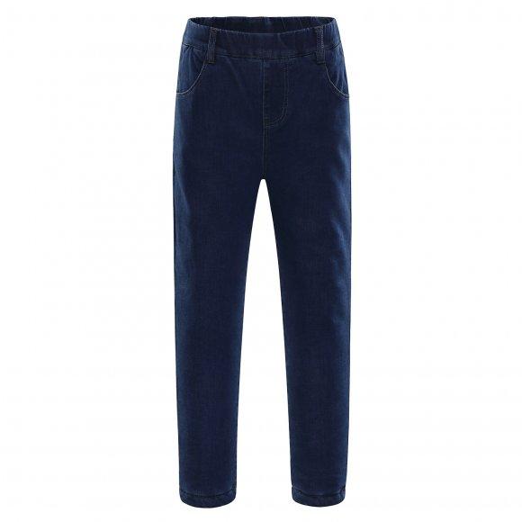 Dětské zateplené kalhoty ALPINE PRO GALIO KPAK102 SVĚTLE MODRÁ