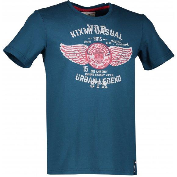 Pánské triko KIXMI DENVER AAMTW17153 MODRÁ