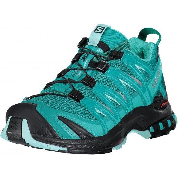 Dámské trekové boty SALOMON XA PRO 3D W L39327000 DEEP PEACOCK BLUE/BLACK/ARUBA BLUE