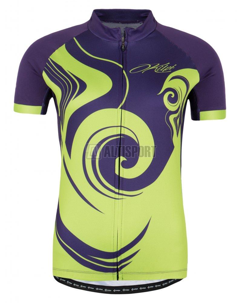 Dámský cyklistický dres KILPI FOXIERA-W FIALOVÁ velikost  44 ... 107ae33cfb