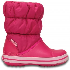 e21d90a4d5b Dětské zimní boty CROCS WINTER PUFF BOOT KIDS 14613-6X0 CANDY PINK