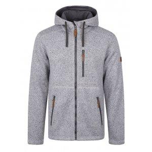 d507b622312 Pánský svetr s kapucí LOAP GODET OLM1724 SVĚTLE ŠEDÁ