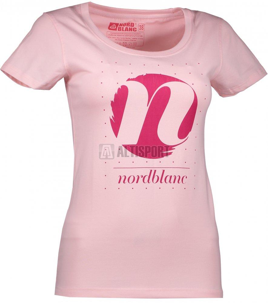 bb08b70f8343 Dámské tričko NORDBLANC CYCLE NBFLT6559 SVĚTLE RŮŽOVÁ velikost  42 ...