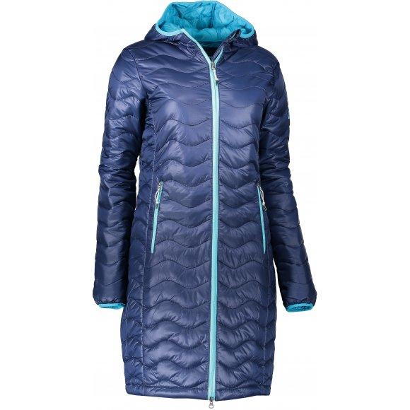 Dámský kabát ALPINE PRO RITZA LCTK041 TMAVĚ MODRÁ