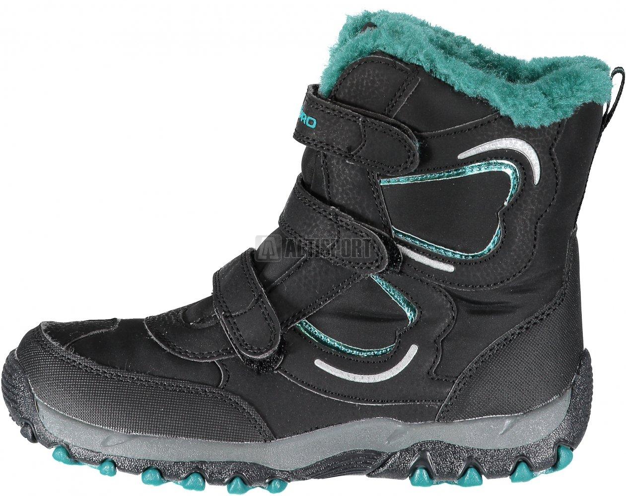 649e1761850 Dětská zimní obuv ALPINE PRO HARYKO KBTK158 ZELENÁ velikost  EU 22 ...