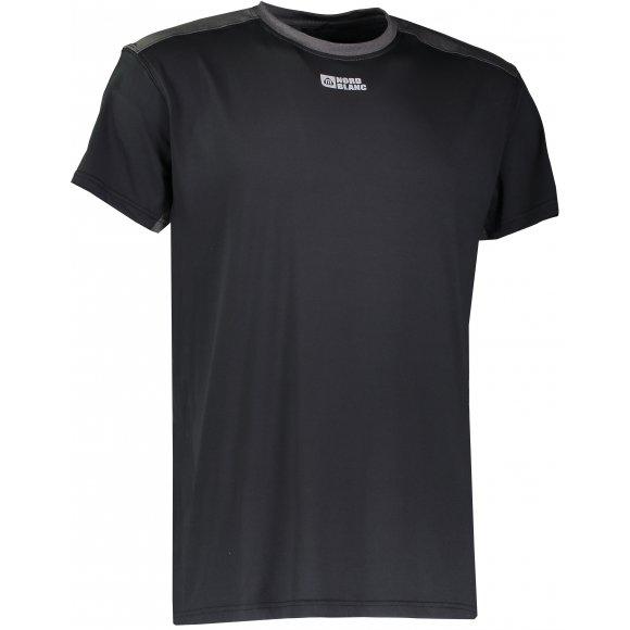 Pánské sportovní triko NORDBLANC MOTIVE NBFMF6510 ČERNÁ