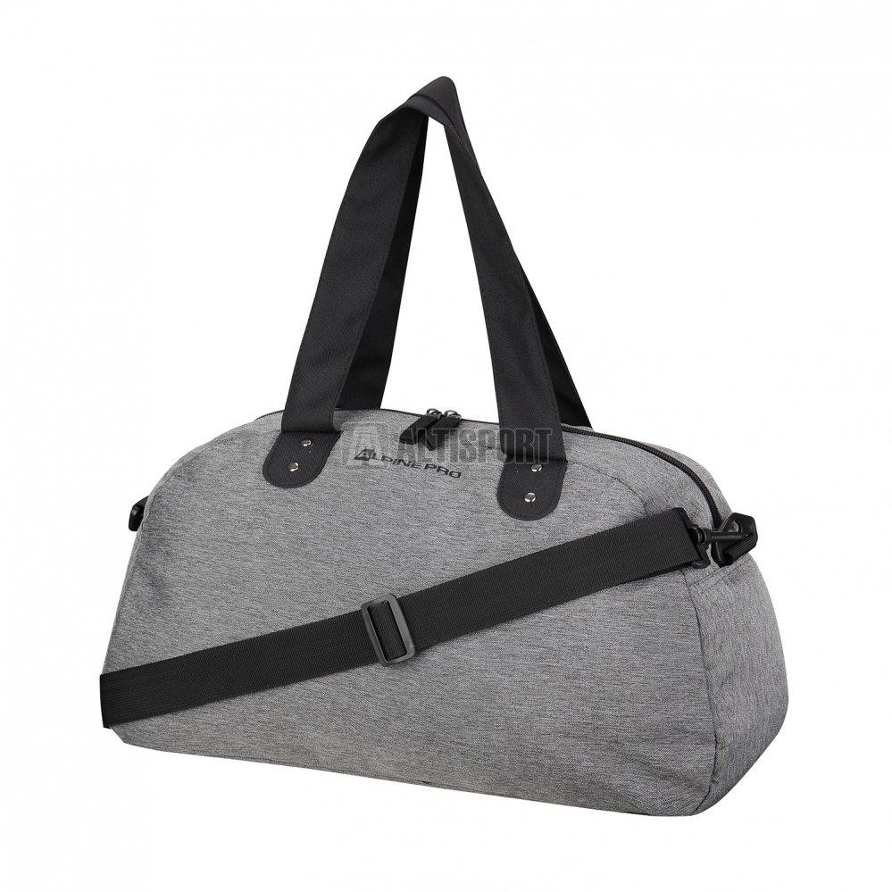 d2729329c6 Dámská sportovní taška ALPINE PRO SQUAW LBGK002 ŠEDÁ velikost ...