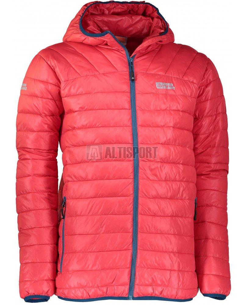 Pánská zimní bunda NORDBLANC QUILT NBWJM6410 JAHODOVÁ ČERVENÁ ... f53a5156c84