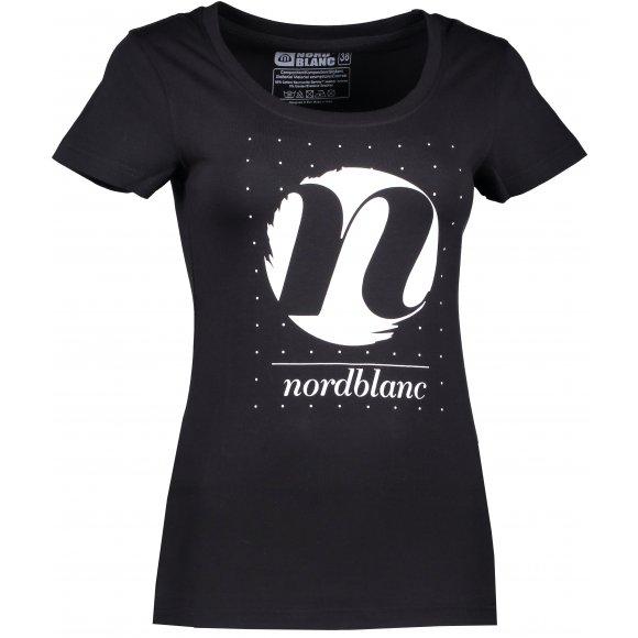 Dámské tričko NORDBLANC CYCLE NBFLT6559 ČERNÁ