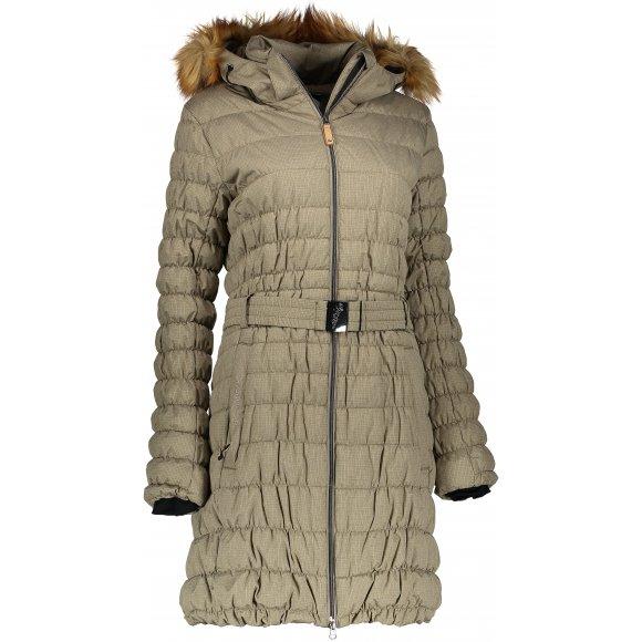 Dámský zimní kabát NORTHFINDER LORNA BU-4428SP ZELENÁ