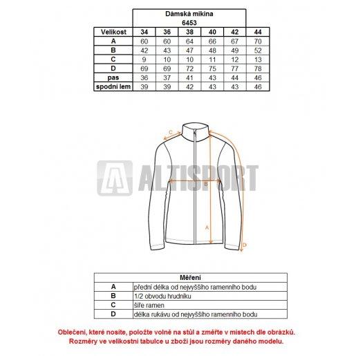 Dámská sportovní mikina NORDBLANC WRY NBFLF6453 RŮŽOVÁ ZÁŘE