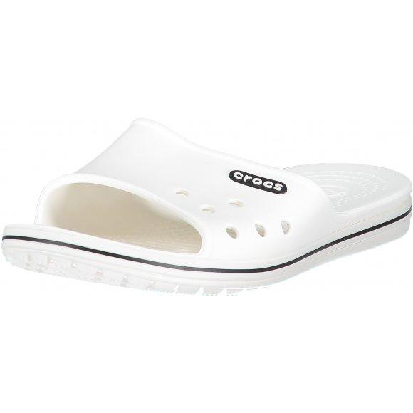 Dámské pantofle CROCS CROCBAND II SLIDE 204108-103 WHITE/BLACK