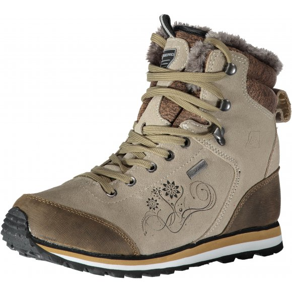 Dámské zimní kotníkové boty ALPINE PRO XALINA LBTK143 BÉŽOVÁ