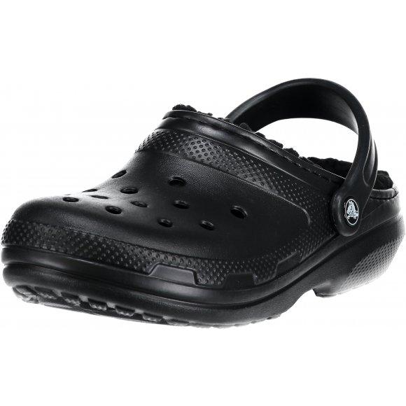 Pánské pantofle CROCS CLASSIC LINED CLOG 203591-060 BLACK/BLACK