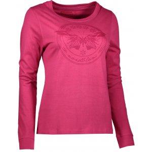 Dámské tričko NORDBLANC FLY NBFLT6556 ČERVENÁ MALINA