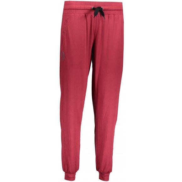 Dámské kalhoty na jógu NORDBLANC REIN NBFPL6539 HLUBOCE ČERVENÁ
