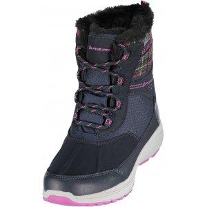 Dámská zimní obuv ALPINE PRO FRADA LBTK156 ČERNÁ 7b9dcb7b92