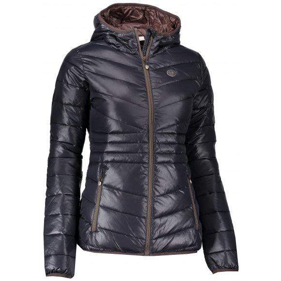 Dámská zimní bunda NORDBLANC GLAMOR NBWJL6429 ČERNÁ
