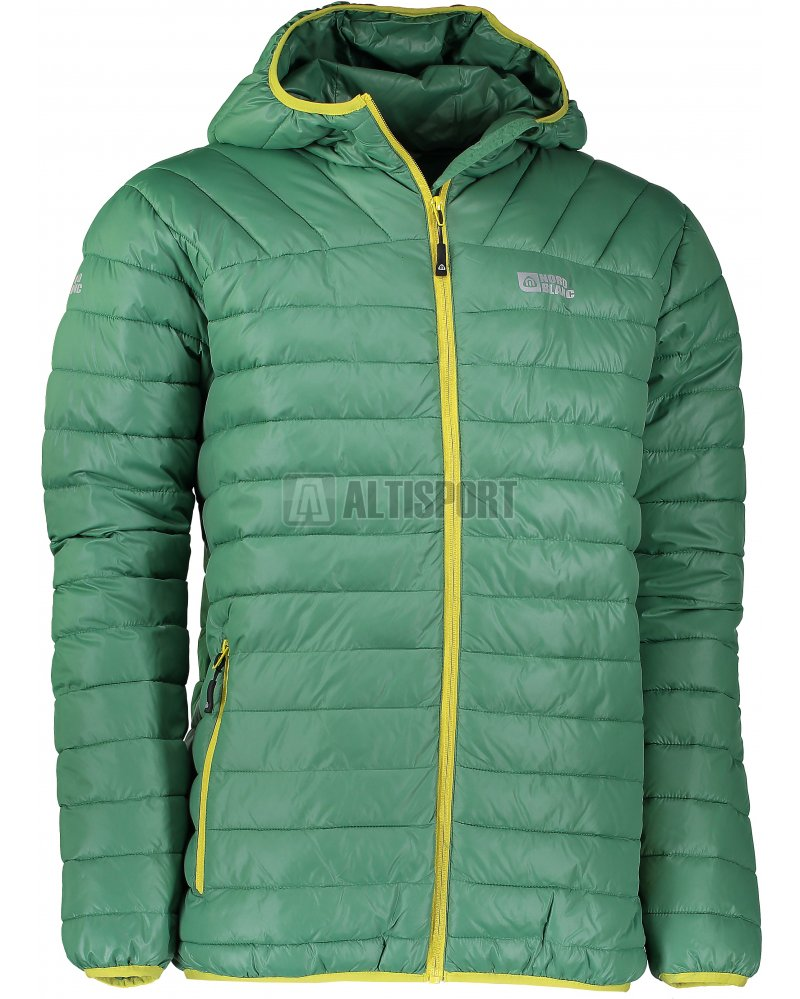 Pánská zimní bunda NORDBLANC QUILT NBWJM6410 ZELENÁ NADĚJE velikost ... 9269b61b31a