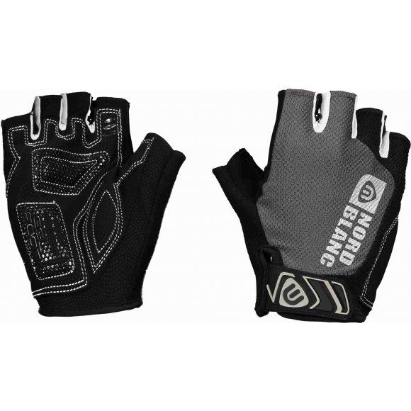 Pánské cyklistické rukavice NORDBLANC LIGHTHAND NBSG6365 ČERNÁ