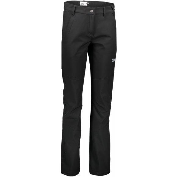 Dámské softshellové kalhoty NORDBLANC COZY NBFPL6485 ČERNÁ
