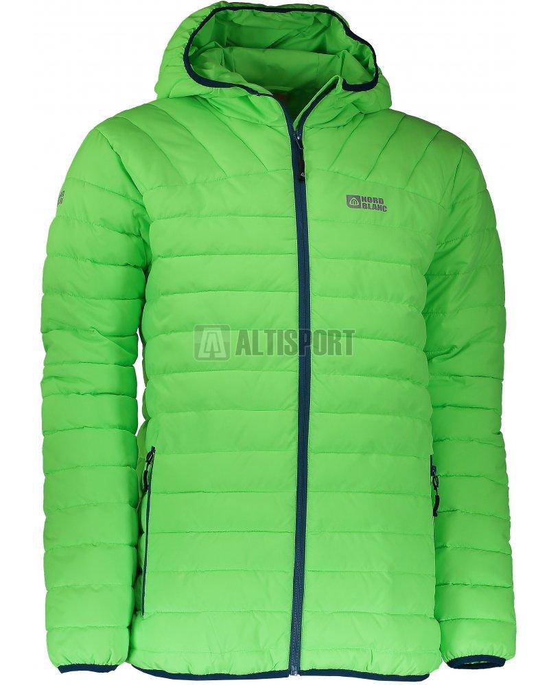 Pánská zimní bunda NORDBLANC QUILT NBWJM6410 ZELENÁ JEŠTĚRKA ... 97f9ee8ac12