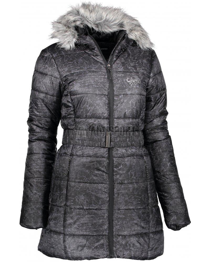 Dámský zimní kabát ALPINE PRO BETHA LCTK055 ČERNÁ velikost  L ... 1b67584fafb