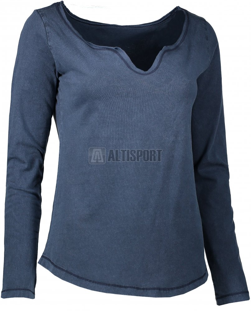 62ebe2f7ee1 Dámské triko s dlouhým rukávem ALPINE PRO TIANA LTSK226 TMAVĚ MODRÁ ...