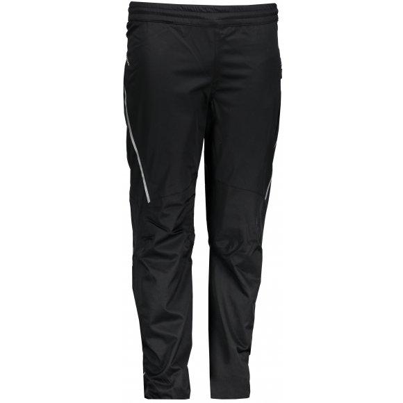 Dětské softshellové zateplené kalhoty ALPINE PRO TISBE INS. KPAK007 ČERNÁ