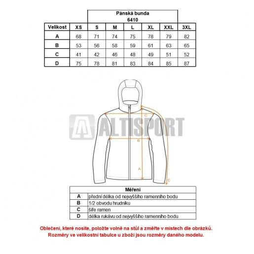 Pánská zimní bunda NORDBLANC QUILT NBWJM6410 MECHOVĚ ZELENÁ
