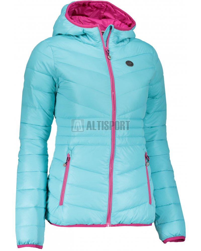 Dámská zimní bunda NORDBLANC GLAMOR NBWJL6429 TYRKYSOVÁ velikost  48 ... bc64bfdecd