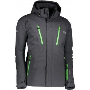 Pánská lyžařská bunda NORDBLANC BLOW NBWJM6404 ŠEDÁ