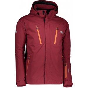 Pánská lyžařská bunda NORDBLANC BLOW NBWJM6404 HLUBOCE ČERVENÁ