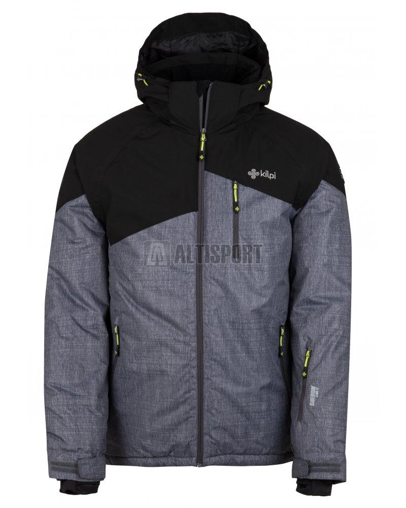 Pánská zimní bunda KILPI OLIVER-M HM0076KI TMAVĚ ŠEDÁ velikost  S ... d43522b62e