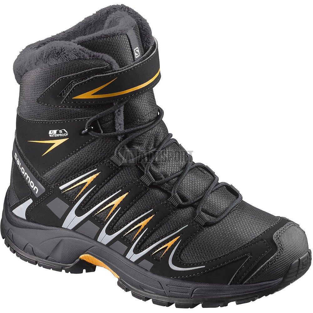 Dětské zimní boty SALOMON XA PRO 3D WINTER TS CSWP K BLACK INDIA INK ... 1a5d160485