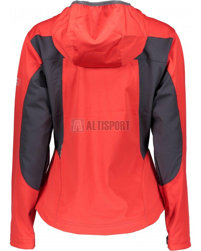 Dámská sportovní bunda TRIMM VENTURA RED GREY velikost  XS ... 39d69068de1