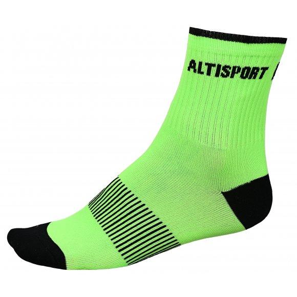 Sportovní ponožky ALTISPORT TAHAT ZELENOČERNÁ