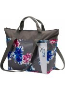 Dámská kabelka PUMA CORE STYLE LARGE SHOPPER 07513606 STEEL GRAY/PUMA WHITE/FLOWER GRAPHIC