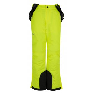 707b8645e85 Dětské zimní kalhoty KILPI MIMAS-JB HJ0011KI ŽLUTÁ