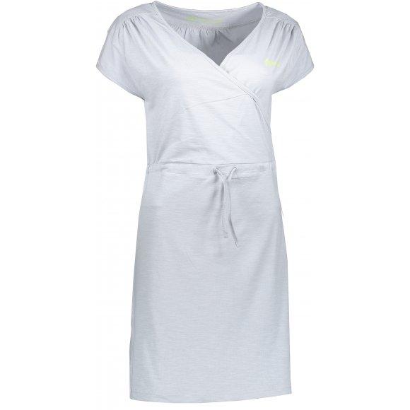 Dámské šaty ALPINE PRO JURUA 2 LSKL094 SVĚTLE ŠEDÁ