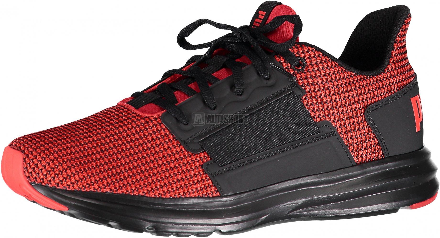 b69c7694c57 Pánská běžecká obuv PUMA ENZO STREET KNIT 19046502 FLAME SCARLET PUMA BLACK