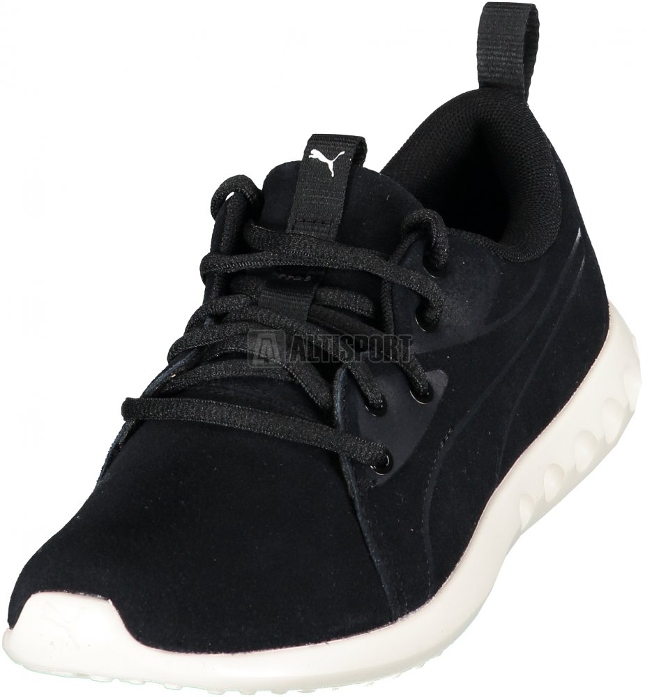 Dámské boty PUMA CARSON 2 MOLDED SUEDE 19058901 PUMA BLACK WHISPER WHITE d0acc5570b